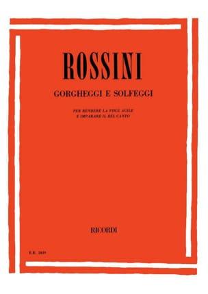 Gioachino Rossini - Gorgheggi E Solfeggi - Sheet Music - di-arezzo.com