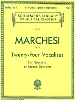 Mathilde Marchesi - 24 Vocalises Opus 2 - Sheet Music - di-arezzo.com