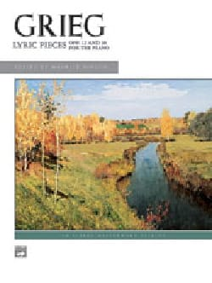 Pièces Lyriques Opus 12 et 38 GRIEG Partition Piano - laflutedepan