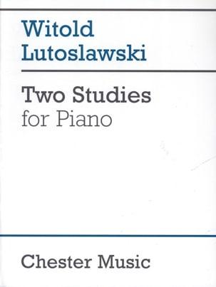 Witold Lutoslawski - 2 Studies - Sheet Music - di-arezzo.co.uk