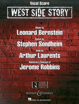 West Side Story BERNSTEIN Partition Opéras - laflutedepan