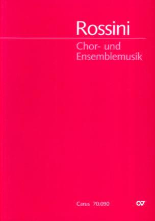 Chor Und Ensemblemusik - Gioachino Rossini - laflutedepan.com