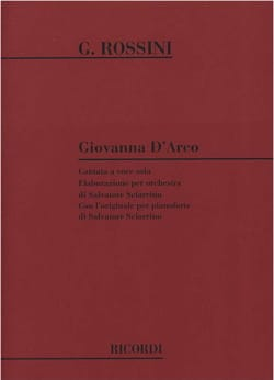 Giovanna D'arco Rossini Gioachino / Sciarrino Salvatore laflutedepan