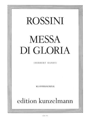 Gioachino Rossini - Messa Di Gloria - Partition - di-arezzo.fr