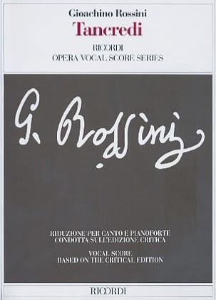 Tancredi Gioachino Rossini Partition Opéras - laflutedepan