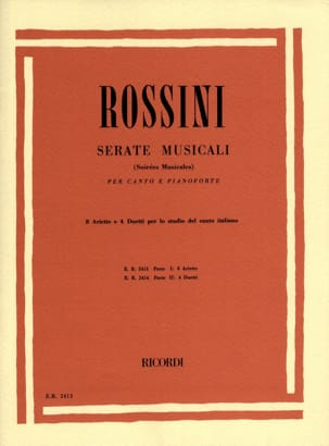 Gioachino Rossini - Serate Musicali Volume 1 - Sheet Music - di-arezzo.co.uk