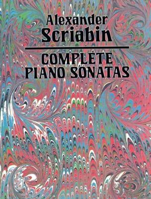Alexander Scriabine - Intégrale des Sonates - Partition - di-arezzo.fr