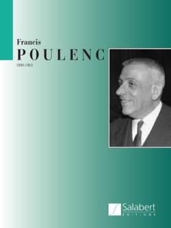 Aubade - Partie Piano POULENC Partition Piano - laflutedepan