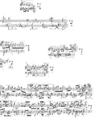 Nr 7 Klavierstücke XI STOCKHAUSEN Partition Piano - laflutedepan