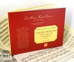 de la Guerre Elisabeth-Claude Jacquet - Cantates Françaises Livre 1 - Partition - di-arezzo.fr
