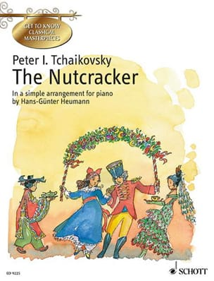 The Nutcracker Opus 71 TCHAIKOWSKY Partition Piano - laflutedepan