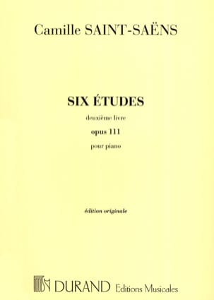 Camille Saint-Saëns - 6 Etudes Opus 111 Volume 2 - Sheet Music - di-arezzo.co.uk