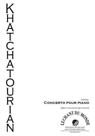 Aram Khatchaturian - Concerto In D Flat Major - Sheet Music - di-arezzo.co.uk