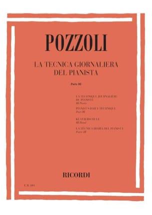 La Tecnica Giornaliera Del Pianista Volume 3 laflutedepan