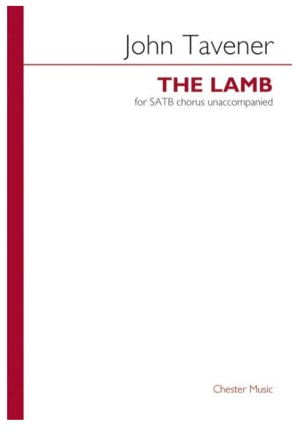 John Tavener - The Lamb - Sheet Music - di-arezzo.com
