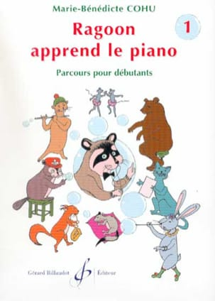Marie-Bénédicte Cohu - Ragoon Learns Piano Volume 1 - Partitura - di-arezzo.es