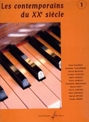 - Les Contemporains Du 20ème Siècle Volume 1 - Partition - di-arezzo.fr