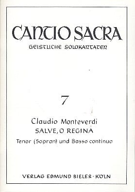 Claudio Monteverdi - Salve, O Regina - Partition - di-arezzo.co.uk