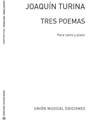 Joachim Turina - 3 Poemas Opus 81 - Partition - di-arezzo.fr