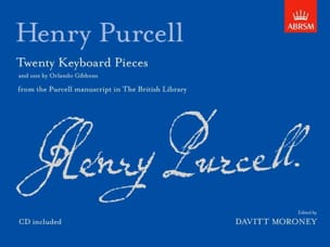 20 Keyboard Pieces PURCELL Partition Clavecin - laflutedepan