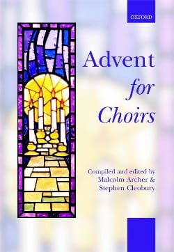 Advent For Choirs Partition Chœur - laflutedepan