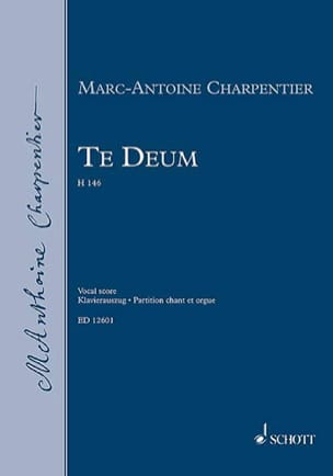 Marc-Antoine Charpentier - Te Deum H 146 - Partition - di-arezzo.fr