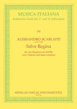 Salve Regina. Conducteur - Alessandro Scarlatti - laflutedepan.com