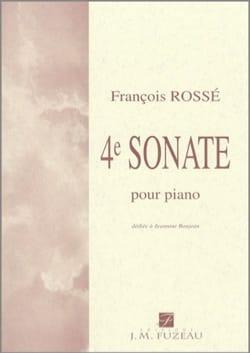 François Rossé - 4ème Sonate - Partition - di-arezzo.fr