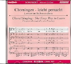 SCHUBERT - Mass in G Major D 167. CD Soprano - Sheet Music - di-arezzo.co.uk
