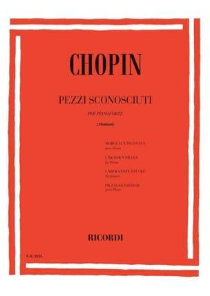 CHOPIN - Pezzi Sconosciuti - Sheet Music - di-arezzo.co.uk