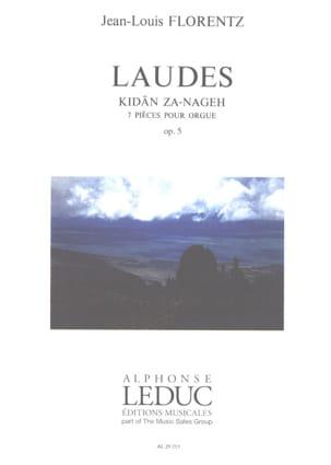 Jean-Louis Florentz - Laudes Opus 5 - Sheet Music - di-arezzo.co.uk
