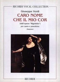 VERDI - Caro Nome. Rigoletto - Partition - di-arezzo.co.uk