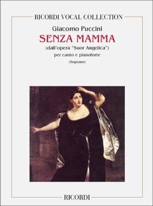 Giacomo Puccini - Senza Mamma. Suor Angelica - Sheet Music - di-arezzo.co.uk