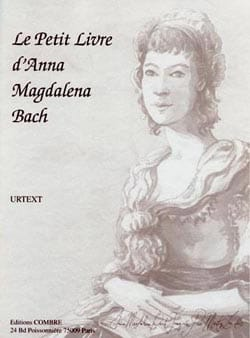 BACH - The Little Book by Anna Magdalena - Sheet Music - di-arezzo.co.uk