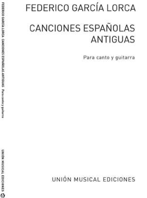 Lorca Federico Garcia - 12 Canciones Españolas Antiguas - Partition - di-arezzo.fr