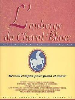 Ralph Benatzky - L'auberge Du Cheval Blanc (sélection) - Partition - di-arezzo.fr