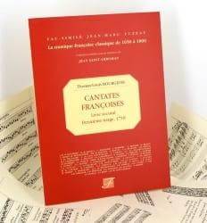 Bourgeois - Cantates Françoises Livre Second 1718 - Partition - di-arezzo.fr