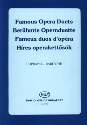 Célèbres Duos D'opéra. Soprano-Baryton - laflutedepan.com