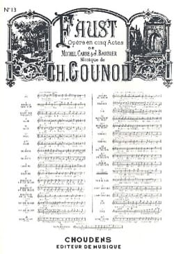 Charles Gounod - You who make sleep. Faust - Sheet Music - di-arezzo.com