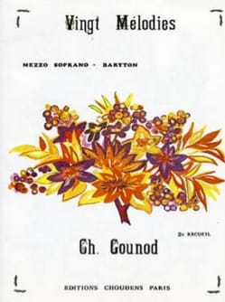 Charles Gounod - 20 Melodies Volume 2. Mean Voice - Sheet Music - di-arezzo.co.uk