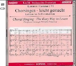 Jean-Sébastien Bach - Oratorio de Noël (2 CD) Soprano - Partition - di-arezzo.fr