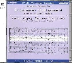 BACH - Oratorio de Noël (2 CD) Ténor - Partition - di-arezzo.fr