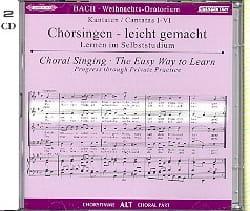 BACH - Oratorio de Noël (2 CD) Alto - Partition - di-arezzo.fr