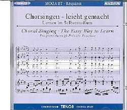 Requiem K 626. CD Ténor MOZART Partition Chœur - laflutedepan