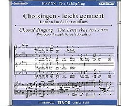 Die Schöpfung CD Ténor HAYDN Partition Chœur - laflutedepan