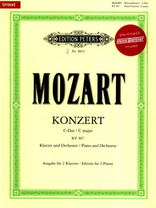 MOZART - Piano Concerto No. 21 in C major K 467 - Sheet Music - di-arezzo.co.uk