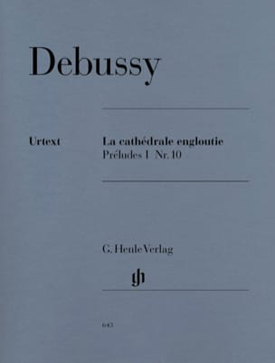 DEBUSSY - The sunken cathedral - Sheet Music - di-arezzo.co.uk