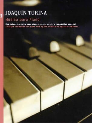 Musica Para Piano Volume 2 - Joachim Turina - laflutedepan.com