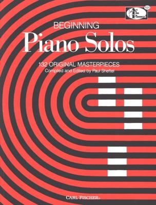 Beginning Piano Solos Partition Piano - laflutedepan