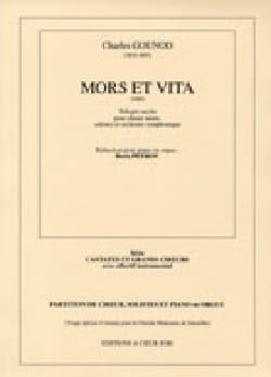 Charles Gounod - Mors et Vita - Partition - di-arezzo.fr